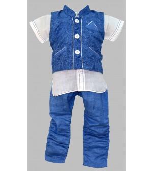 Jumpy Jumpy Blue Coloured Kids boys Clothing Set