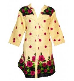 Apex Sandal Coloured Flower Design Top For Kids Girl's - 2683