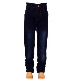 No - Ne  Blue Colour Slim Fit Boy's Jeans