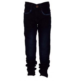 None Fashion Blue Colour Slim Fit Boy's Jeans