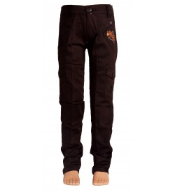 Little Kangaroo Brown Colour Kid's Cargos