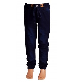 Joora Joggers Fit Boy's Dark Blue Jeans