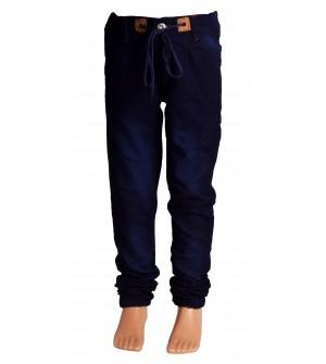 Joora Joggers Fit Boy's Dark Blue Jeans
