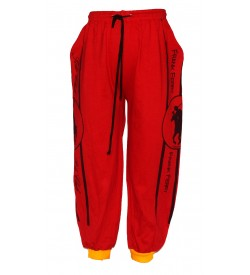 Frank Ferry Track Pant For Boys (Red)