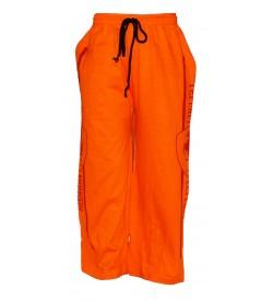 Ferrari Track Pant For Boys (Orange)