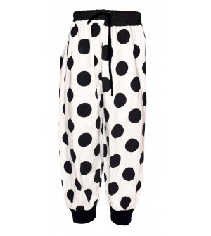 Elastic Cuff Cotton 3/4 Pant For Girls