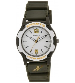 Sonata Analog White Dial Boy's Watch