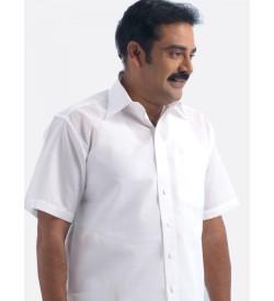 Ramraj Pure Cotton White Shirts