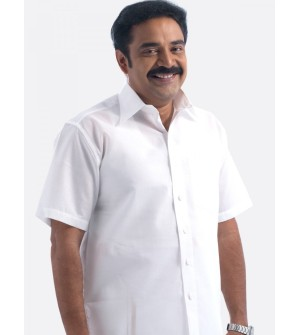 Bala Hi Look Cotton White Shirt For Mens