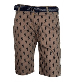 PULL&BEAR 3/4th Bermudas For Mens&Boys - 1668