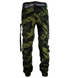 Router Multi Colour Army Print Joggers Track Pant For Mens -1621