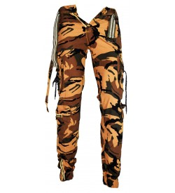 Router Multi Colour Army Print Joggers Track Pant For Mens -1645