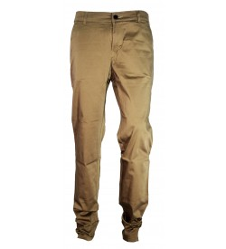 F&P Icon Narrow Fit Trousers For Men (Dark Khaki)