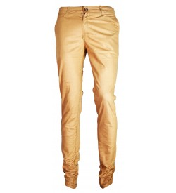 F&P Darby Narrow Fit Trousers For Men (Mustard)