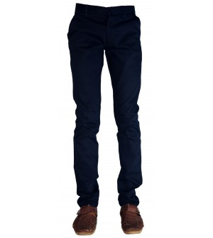 F&P Hyper Smart Fit Trousers For Mens (Navy Blue)