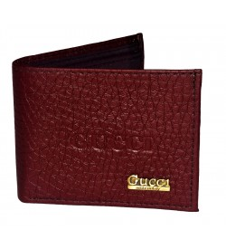 Gucci Mens Two Fold Wallet 6 Card Slots