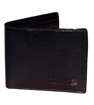 TOMMY HILFIGER Mens Two Fold Wallet 6 Card Slots
