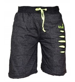 Big Boss Gray Regular Shorts Men's