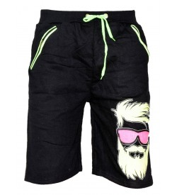 Big Boss Black Regular Shorts Men's