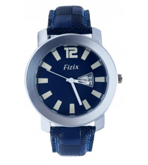 Fizix Fastrack Look Blue Strap Analog Day & Date Watch For Men's-2077