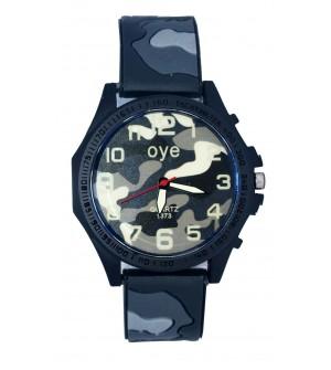 Oye Quartz Army Style Watch For Men's