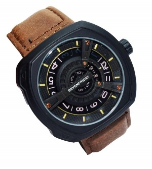 Mobizeo Sevenfriday Leather Analog Unisex Watch