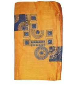 Kashish Design D.Yellow Colour Cotton Salwar Kameez & Dupatta ( Unstitch ) -1486