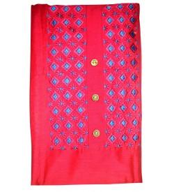 Kashish Flower Design D.Pink Colour Cotton Salwar Kameez & Dupatta ( Unstitch ) -1492