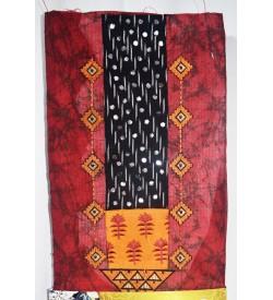 Kashish Design Maroon Colour Cotton Salwar Kameez & Dupatta ( Unstitch ) -1508