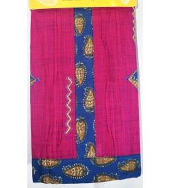Kashish Mango Design Vadamali Colour Cotton Salwar Kameez & Dupatta ( Unstitch ) -1510