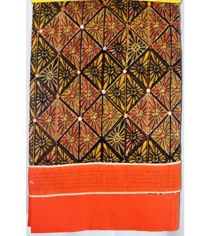 Kashish Multi Colour Cotton Salwar Kameez & Dupatta ( Unstitch ) -1519