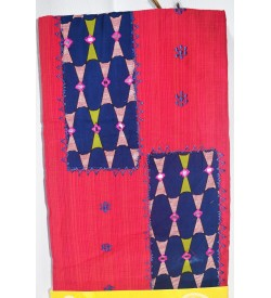 Kashish D.Pink Cotton Salwar Kameez & Dupatta ( Unstitch ) -1521