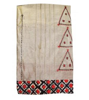 Kashish D.Sand Colour Cotton Salwar Kameez & Dupatta ( Unstitch ) -1536