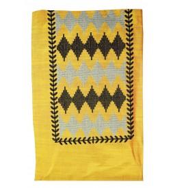Kashish Design Yellow Colour Cotton Salwar Kameez & Dupatta ( Unstitch ) -1539