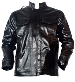 Life Style Leather Mens Jacket (Black, Pack of 1) - 0764