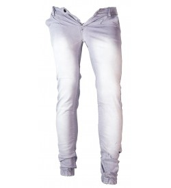 Laala Jeanswala Gray Stretchable Joggers For Boys - 0752