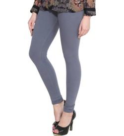FW Gray Cotton 2 Way Stretch Leggings