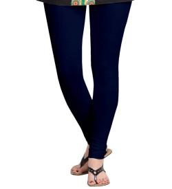 FW Navy Blue Cotton 2 Way Stretch Leggings