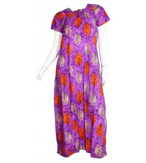 Indus King Kong 1/2 Sleeve Printed Nighty For Women's - 0128