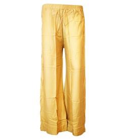 Bonie Deep Skin Reyon Plain Palazzo Trousers For Women - 0468