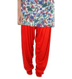 Zara Red Salwar Patiala For Women