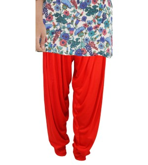 Zara Red Salwar Patiala For Women