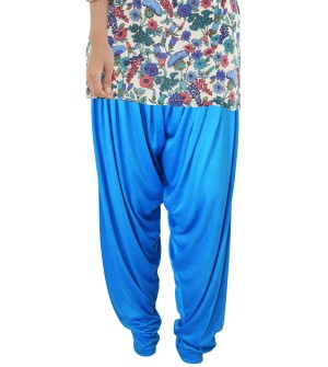 Zara Sky Blue Salwar Patiala For Women