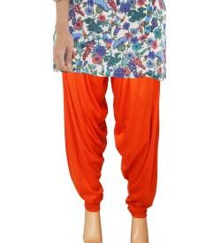 Zara Orange Salwar Patiala For Women