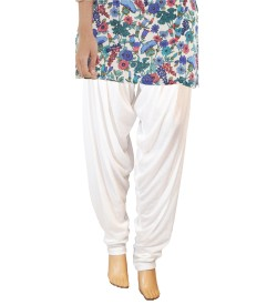 Zara White Salwar Patiala For Women