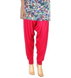 Zara Rani Pink Salwar Patiala For Women