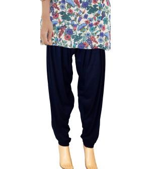 Zara Navy Blue Salwar Patiala For Women