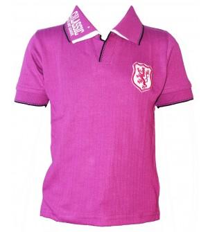 Dia Boys Plain Striped Cotton T Shirt (Fushia, Pack of 1) - 0688