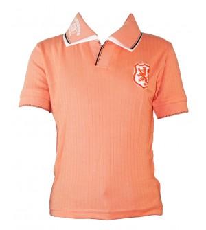Dia Boys Plain Striped Cotton T Shirt (Peach, Pack of 1) - 0694