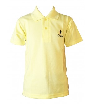 Carlos Boys Plain Cotton T Shirt (L.Yellow, Pack of 1) - 0720